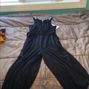 Brand new navy jumpsuit